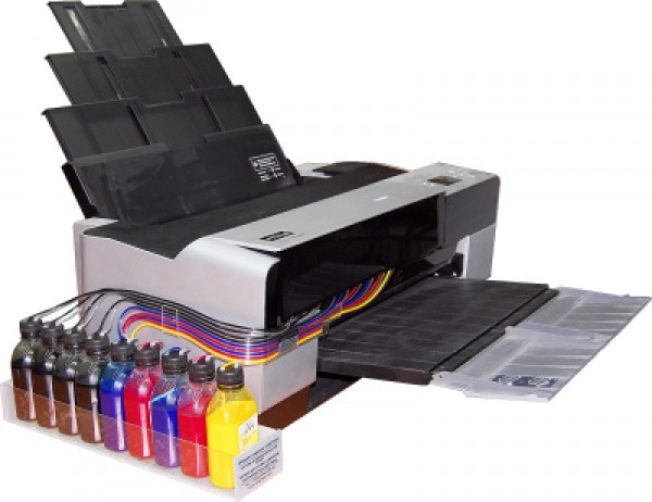 Как переделать принтер hp в снпч